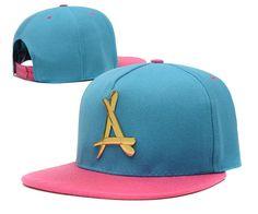 Alumni Gold Logo Snapback Hats