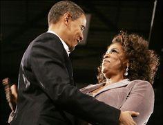 Barack Obama & Oprah