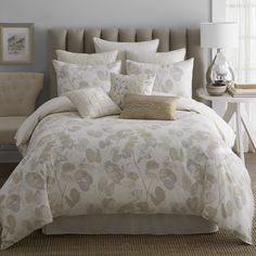 Beautiful and Serene. Oxidized Leaf Bedding Collection | Wayfair