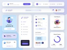 Comet Wallet - UI Components 🥳 by Budiarti Ar-Rohman for Orely on Dribbble