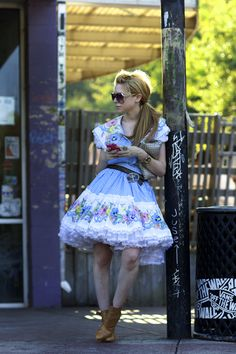 """Monday, September 20, 2010 """"On the Street…The Young Square Dancer, Atlanta"""""""