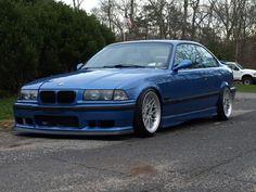 Blue E36 BMW M3