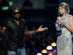 Taylor Swift & Kanye West: Their Hot & Cold Friendship History - http://www.movienewsguide.com/taylor-swift-kanye-west-hot-and-cold-friendship-history/241193
