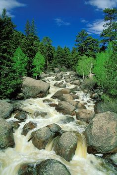 Big Thompson River in Rocky Mountain National Park, CO | Andy Cook, RMRP