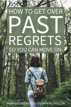 Do you have regrets and mistakes in your past you have a hard time getting over? Check out this article for tips on how to let go of the past.