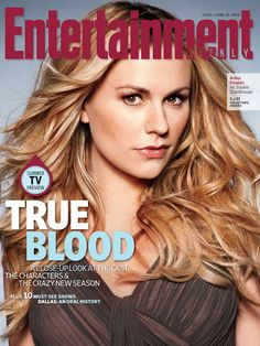 True Blood, Anna Paquin | Like what you see? Click to buy the complete set of EW True Blood covers !