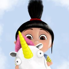 The cute Agnes from Despicable Me. Nice movie don't forget to watch it.