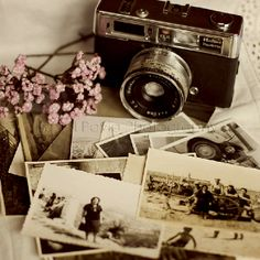 Old camera!  We can use our old camera's as part of your decoration, especially near the old photos.