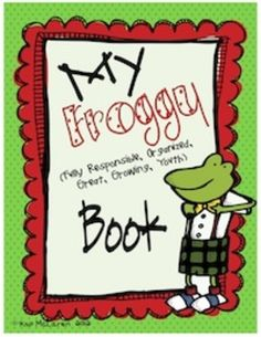 So, what is a Froggy Binder?    The Froggy binder is a 3-ring notebook that students use everyday to develop organizational skills and responsibility.  This 3-ring binder houses EVERYTHING your child, you (the caregivers) and I need to keep up-to-date with what is going on in our classroom and at school. Everything will be right here in our Froggy Binder!