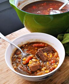 Great race, great taste: Green Chili Cowboy Stew
