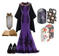 """""""Guess the Disney Villain - Jamberry"""" by kspantongroup on Polyvore featuring Giuseppe Zanotti"""