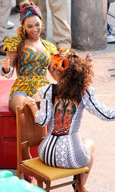 Beyoncé Filming 'Put It In a Love Song' With Alicia Keys In Brazil, 2010
