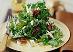 Chicory Pear and blue cheese salad
