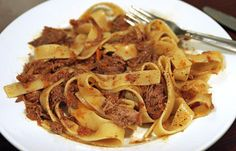 Gwyneth Paltrow's Pappardelle With Duck Ragu