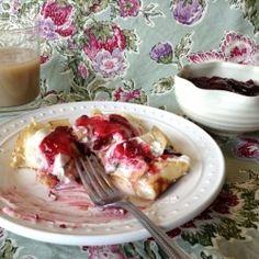 Raspberry Crepes