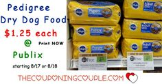 Pedigree Dry Dog Food Deal $1.25 a Bag @ Publix starting 8/18! Print Now so you are ready to grab this hot deal on dog food the new sale ad!  Click the link below to get all of the details ► http://www.thecouponingcouple.com/pedigree-dry-dog-food-deal-1-25-a-bag-publix-starting-24/ #Coupons #Couponing #CouponCommunity  Visit us at http://www.thecouponingcouple.com for more great posts!