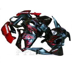 Aftermarket Fairings For Honda CBR600RR 05-06 Red Flames  ABS Kits 2005 2006