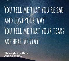 Thorough The Dark♥ One Direction♥♪