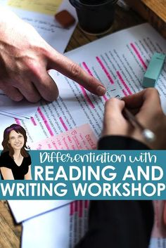 Reading workshop and mentor texts give secondary English teachers an easy-to-implement tool for differentiated instruction. Writer Workshop, Reading Workshop, Feedback For Students, Secondary Teacher, High School Classroom, Differentiated Instruction, High School English, Formative Assessment, Mentor Texts