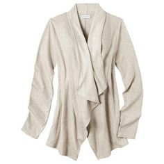 Cute, comfy cardigan sweater. #target #maternity   Liz Lange® for Target® Maternity Long-Sleeve Layering Top - Assorted Colors