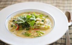 Thai Coconut Curry Soup by theworldinmykitchen #Soup #Thai #Coconut #Curry #theworldinmykitchen