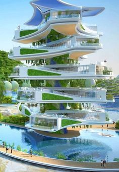 38 Best design Sustainable architecture Ideas for environmentally friendly construction - # . - 38 Best design Sustainable architecture Ideas for environmentally friendly construction – - Architecture Durable, Futuristic Architecture, Sustainable Architecture, Beautiful Architecture, Landscape Architecture, Interior Architecture, Futuristic Houses, Interior Design, Architecture Drawings