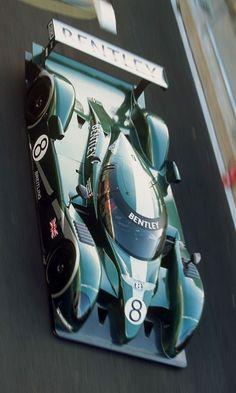 Hero Racecars – 2001 Bentley Speed 8 LMP1 Winner Laid Bedrock for Modern Flying B