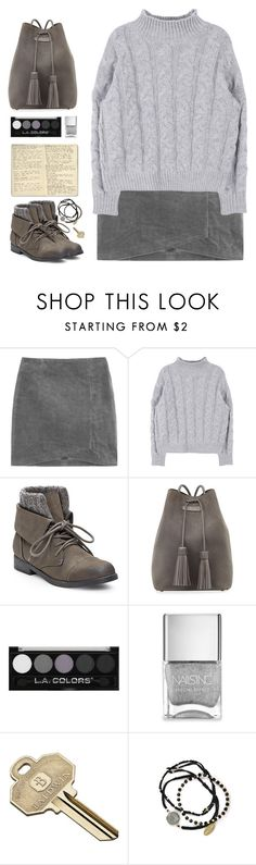 """Untitled #1374"" by timeak ❤ liked on Polyvore featuring Steve Madden, Tom Ford, Nails Inc., Moleskine, Baldwin and Feather & Stone"