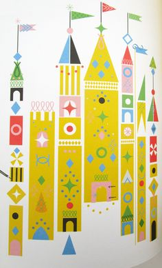 print & pattern: BOOK - thereza rowe Kids Patterns, Print Patterns, Geometric Patterns, Scandinavian Folk Art, Children's Book Illustration, Illustration Styles, Happy Paintings, Mary Blair, Art Classroom