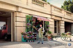 Volkswagen Delivery Trucks: Flower shop
