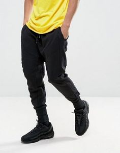 Buy New Look Drop Crotch Panelled Jogger In Black at ASOS. With free delivery and return options (Ts&Cs apply), online shopping has never been so easy. Get the latest trends with ASOS now. Asos, High Street Brands, Drop Crotch, Great British, Models, New Look, Parachute Pants, Joggers, Fashion Online