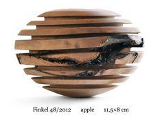 no 48/2012, apple, 11.5 x 8 cm    www.christophfinkel.com