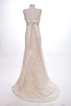 MIGNONNE lace wedding dress by toccata on Etsy. $780.00, via Etsy.
