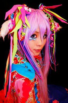 Japan Fashion, i really love it! Estilo Harajuku, Harajuku Girls, Harajuku Fashion, Japan Fashion, Kawaii Fashion, Pop Fashion, Cute Fashion, Fashion Walk, Harajuku Style