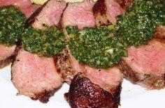 Hmmm, voilà une sauce délicieuse pour accompagner une viande. Sur la photo, pour une entrecôte de boeuf, c'était divin. Salsa verde, sauce…