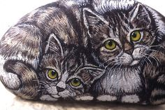Twin Kitties...very nicely done!...talented artist!