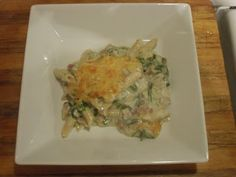 Have Dinner With Us! Paul & Tim's Menu: Spinach & Artichoke Mac'n'Cheese
