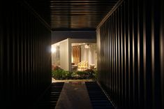 Image 4 of 21 from gallery of Xiangxiangxiang Boutique Container Hotel / Tongheshanzhi Landscape Design Co. Courtesy of Tongheshanzhi Landscape Design Co Container Hotel, Container House Design, Container Architecture, House Landscape, Garden Landscape Design, Spas, Side Yard Landscaping, Landscaping Ideas, Boutique