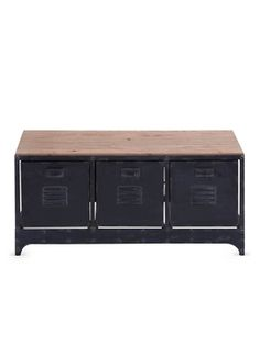 Storage Bench from Updated Industrial: Furniture & More on Gilt