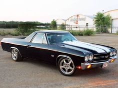 I don't know why- I've always loved the 71 Chevy ss El Camino 454. This is my dream car. I don't want a new fancy car - just one that is sleek and functional - it saids something about my personality.