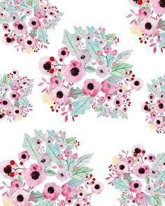 art, flowers, cute, illustration