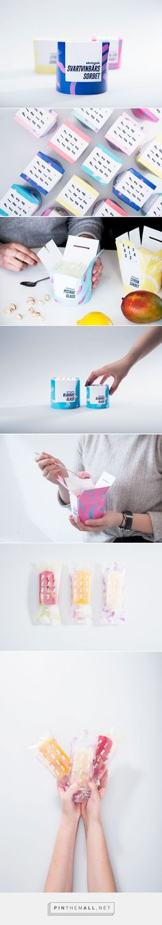 Ice cream in a brilliantly colored Chinese take-out box!  Love it! #packagedesign