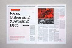 Editorial Design Inspiration: 99U Magazine | Abduzeedo Design Inspiration