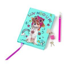 Luv Hoo U R Lock Diary