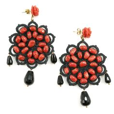 JJ Caprices - Crochet Earrings by AD Gioielli