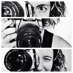 My self portrait photo stitch
