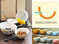 Kelly Pfeiffer is raising funds for Simple Portion Bowls - just measure what matters on Kickstarter! Simple Portion Bowls are a unique, stylish, and smart way to be more health-savvy and in control. Shrimp Bruschetta, Portion Plate, Calorie Dense Foods, Large Bowl, Small Bowl, Clean Eating, Healthy Eating, Granola Cereal, Kitchen Necessities