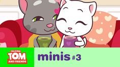 Talking Tom and Friends Minis - Boy Meets Girl (Episode Toms, Youtube Kanal, Boy Meets Girl, 3 Boys, Episode 3, Friends, Videos, Hello Kitty, Animation