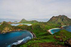 The three bays of Padar Island East Nusa Tenggara Indonesia [OC] [42882848] #reddit