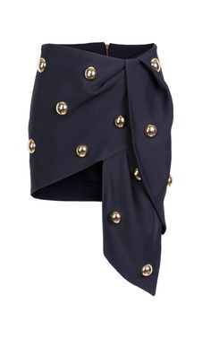 Shop Gilded Cabochon Skirt by Anthony Vaccarello for Preorder on Moda Operandi Skirt Fashion, Love Fashion, Fashion Dresses, Fashion Design, Skirt Outfits, Cute Outfits, Classy Outfits, Frilly Skirt, Pleated Skirt
